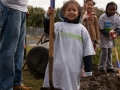 "American Express ""Serve2Gether"" Community Planting Day - Photo Credit: Sharese Ann Frederick"